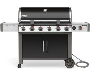 68014001B Weber 2017 Genesis II LX E-640 6 Burner NG Product Black